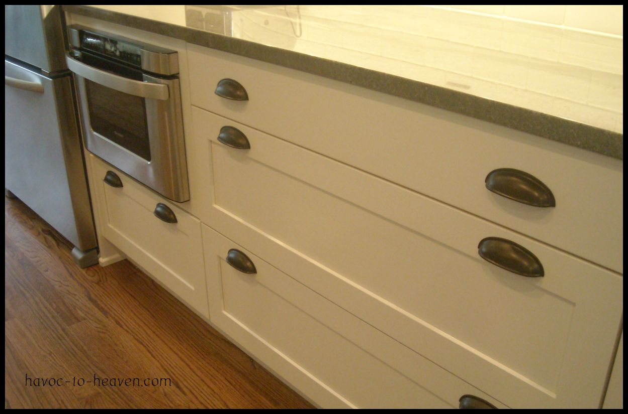 Drawer Pulls For Kitchen Cabinets Cabinet Hardware Havoc To Heaven