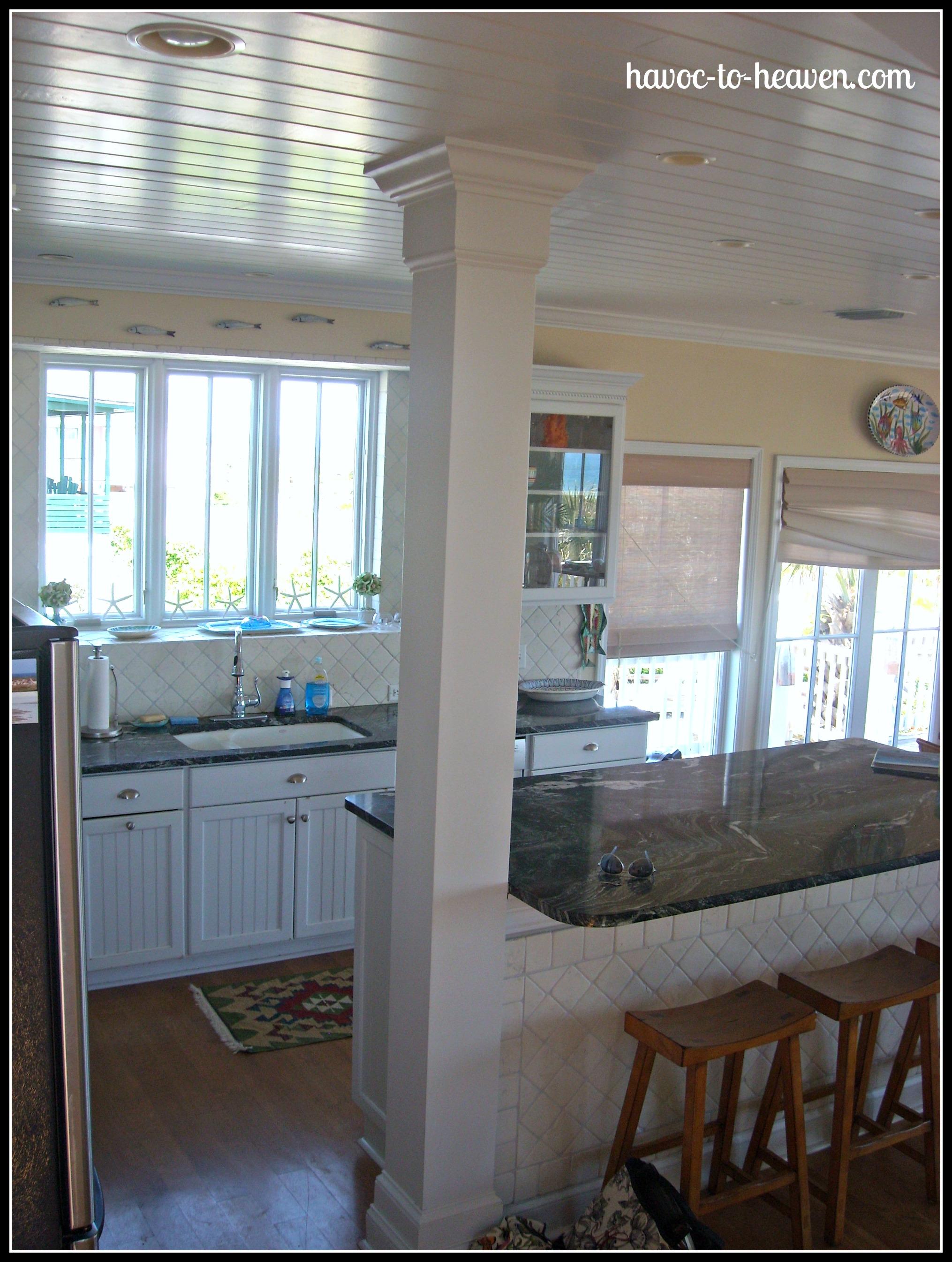 No Window Over Kitchen Sink Beach Decor Havoc To Heaven